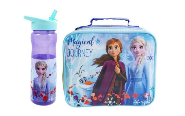 Disney Frozen II Lunbags and bottles