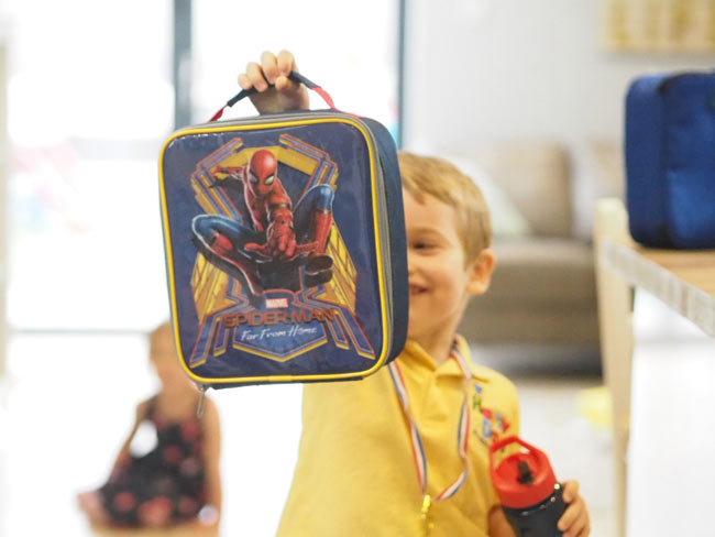 SpiderMan Luch Bags