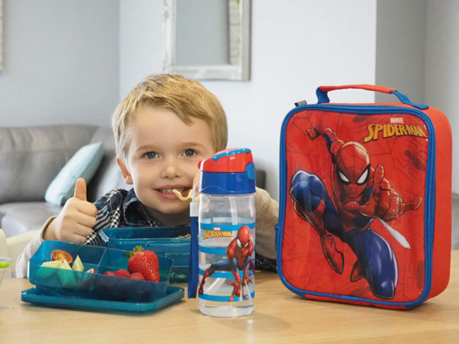 SpiderMan LuchBag